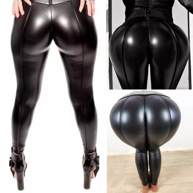 NIVA  Leggings PU Leather Leggings