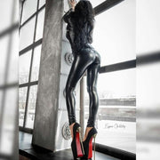 NUSA PU Leather Leggings Pants