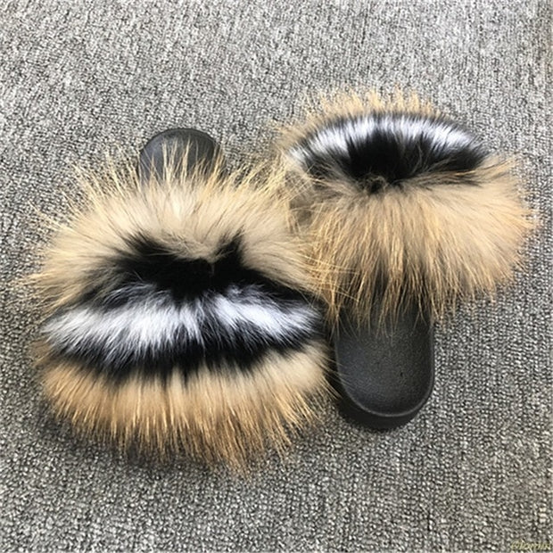 MONIKA  Furry Slippers