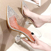 NOEMI Transparent High Heels