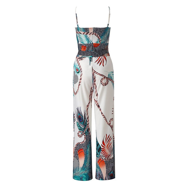 RILEY Sexy  Printed  jumpsuit