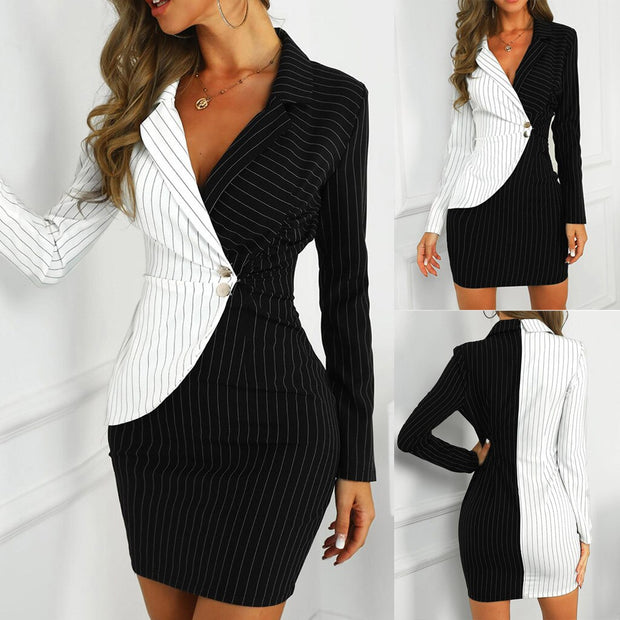 BRIANA Bodycon Blazer Dress