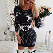 SANTA Christmas Bodycon Dress
