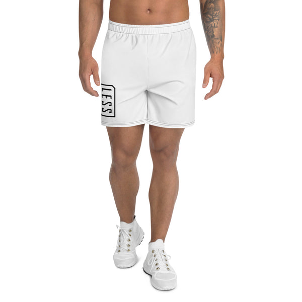 LESS LOGO MESN'S ATHLETIC LONG SHORTS