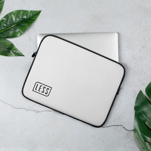LESS LOGO LAPTOP SLEEVE