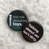 Sex-Positive Button Set