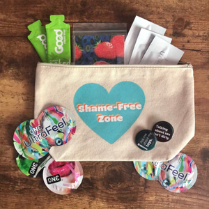 Shame-Free Zone Canvas Bag