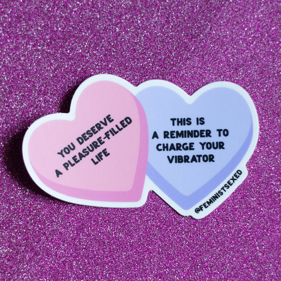 Sex-Positive Sweethearts • Sticker