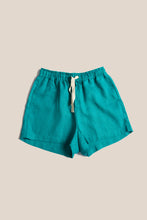 Load image into Gallery viewer, BOXY SHORTS - TEAL