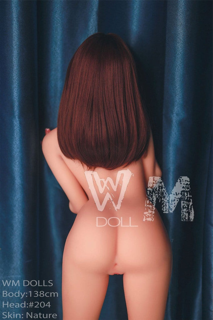 WM Dolls 138cm Sex Doll Real Silicone Love Doll Vagina Lifelike Sex Real Love Sex Store Realistic Anime Sex Dolls Full Size for Men Toys - Secret World