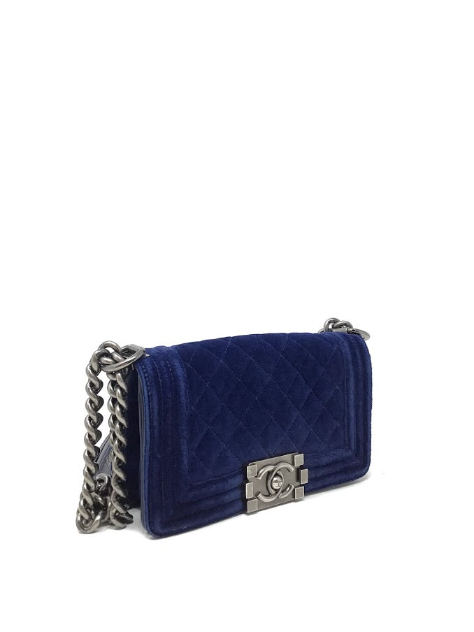 Chanel '13 Mini/ Petit Velvet Boy Bag