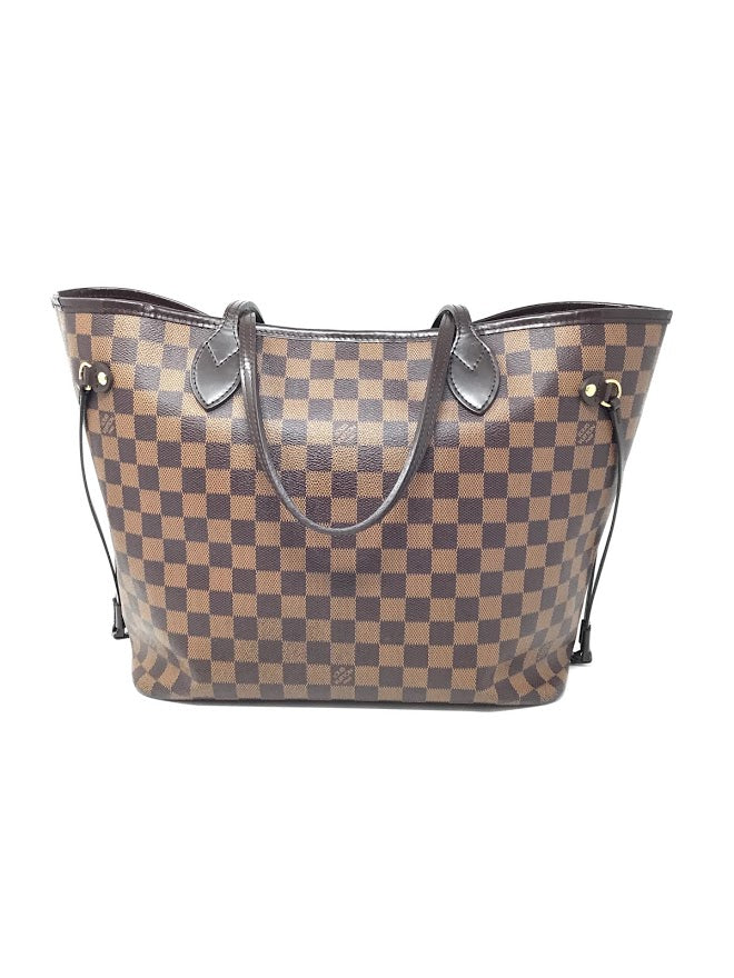Louis Vuitton Damier Ebene '15 Damier Neverfull MM Tote W/Pouch