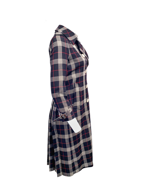 Gucci Size 38 Plaid Outwear