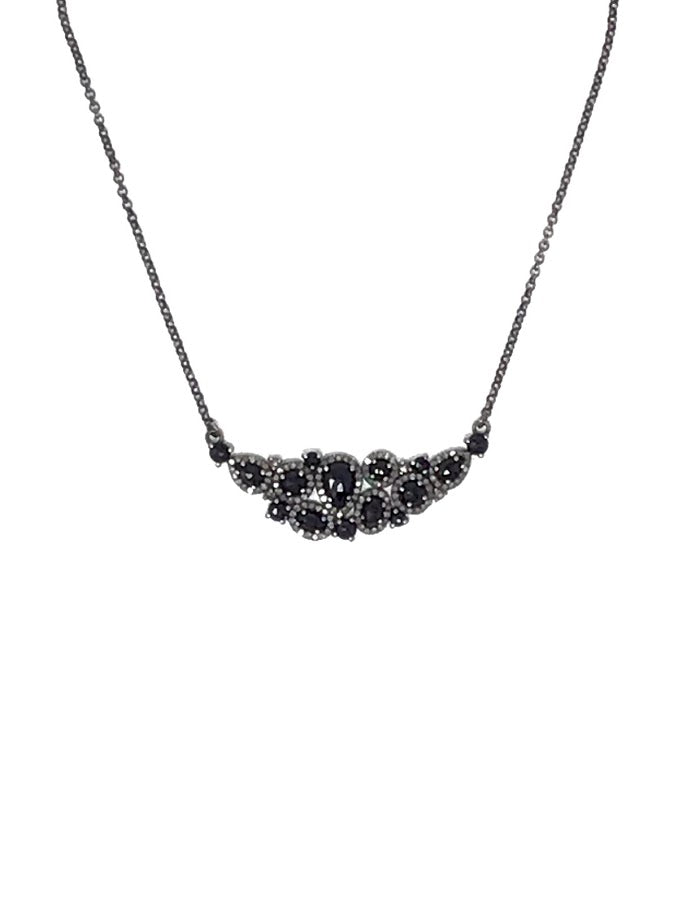 Bavna Diamond Choker Chain Necklace