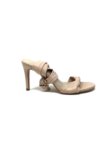 Zimmerman 36 Leather Twisted Strap W/  Ankle Tie Heels