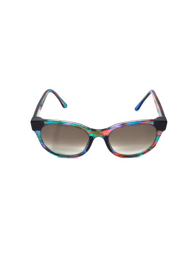 "Thierry Lasry Multi ""Peroxxxy""  Round Frames Sunglasses"