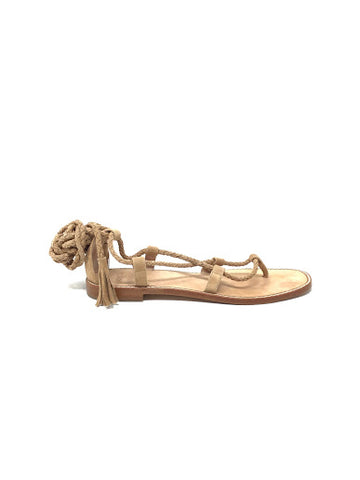 "Joie 36.5 ""Bailee""  Braided Lace Up Gladiator Sandal"