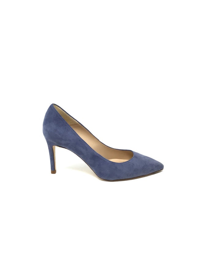 L.K. Bennett 38 Suede Pointed Toe Pumps