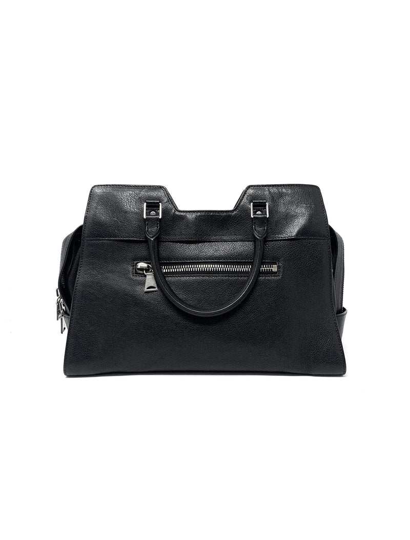 Proenza Schouler Black Handbag PS13 Large Satchel