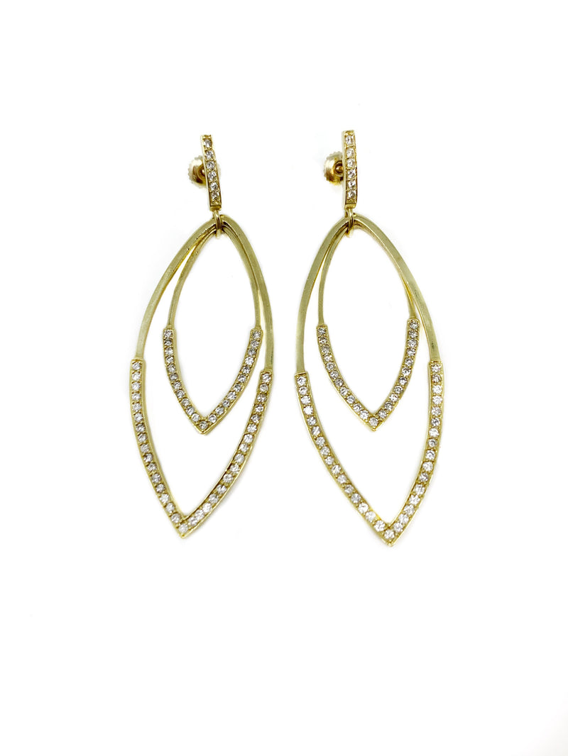 Anita Ko Gold Earrings