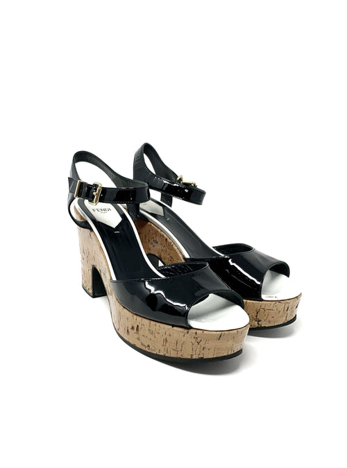 Fendi W Shoe Size 39.5 High Heels