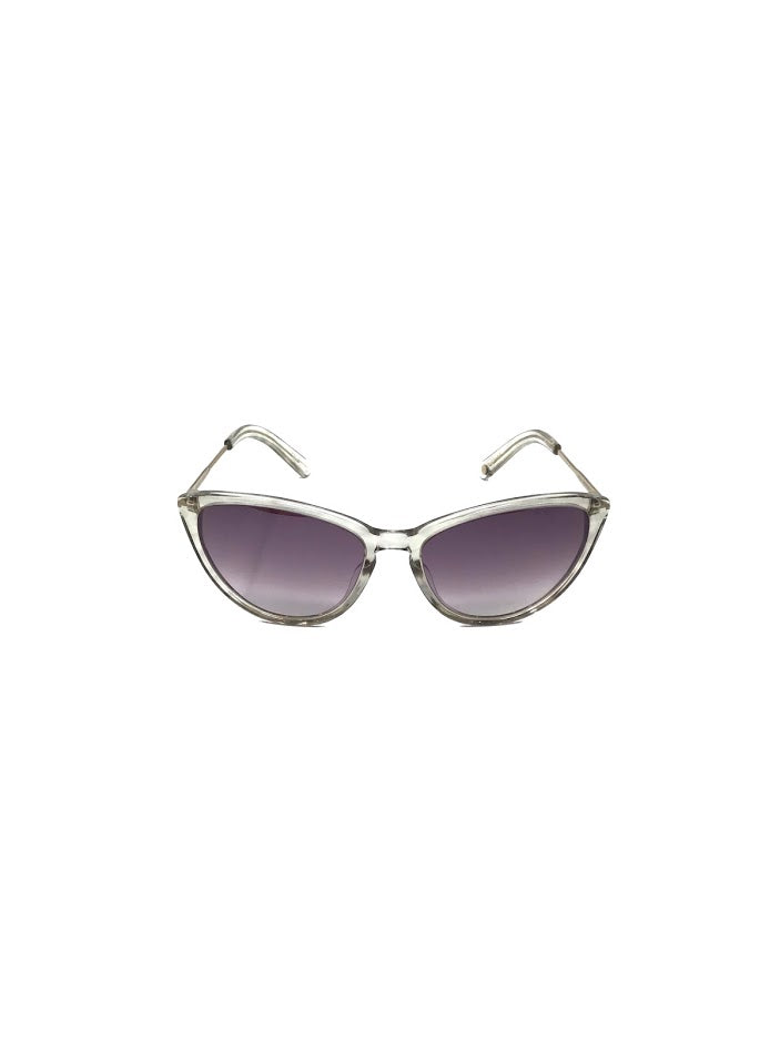 Garrett Leight Clear Cat Eye Sunglasses