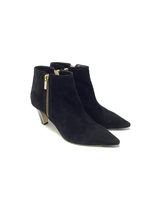 Jimmy Choo 36.5 'Lowry' Suede Pointed Toe Bootie
