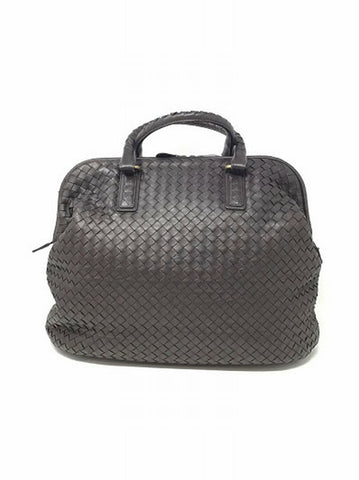 Bottega Veneta Chocolate Intrecciato Doctor Tote