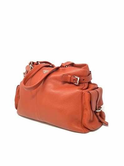Prada Orange Handbag