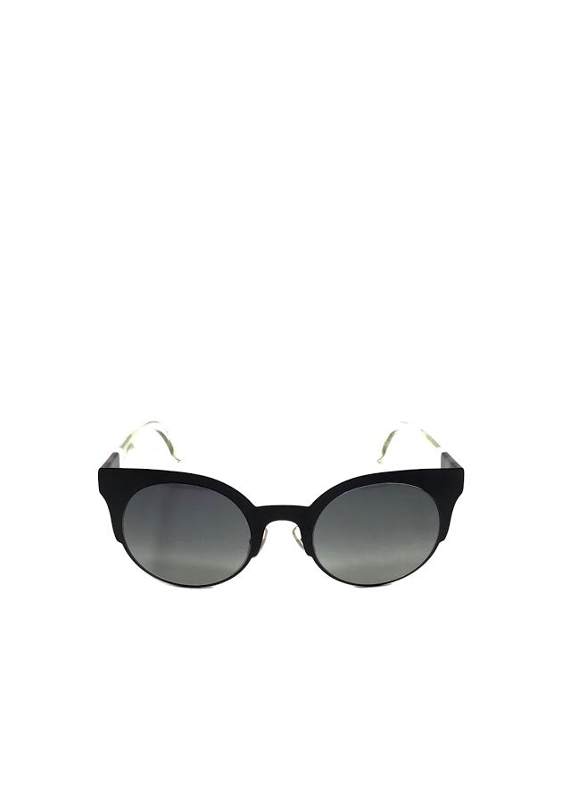 Fendi WC! Matte Cat Eye Brown Grandient Sunglasses