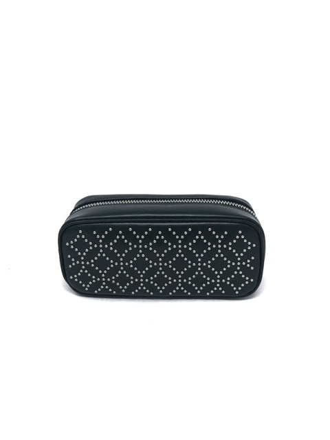 Alaia Forest Green Clutch