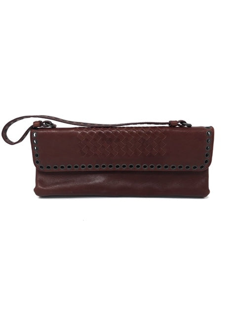 Bottega Veneta Wine Clutch