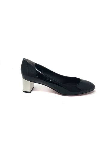 "Fendi Color Block ""Eloise"" Chunky Low Heel"