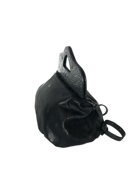 Henry Beguelin Black Handbag