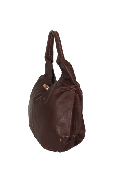 Henry Beguelin Brown Handbag