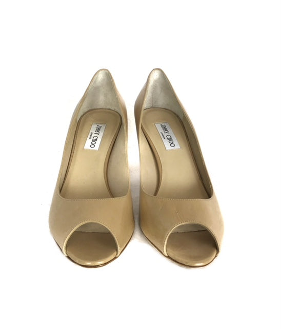 Jimmy Choo Nude Size 41 Low Heel