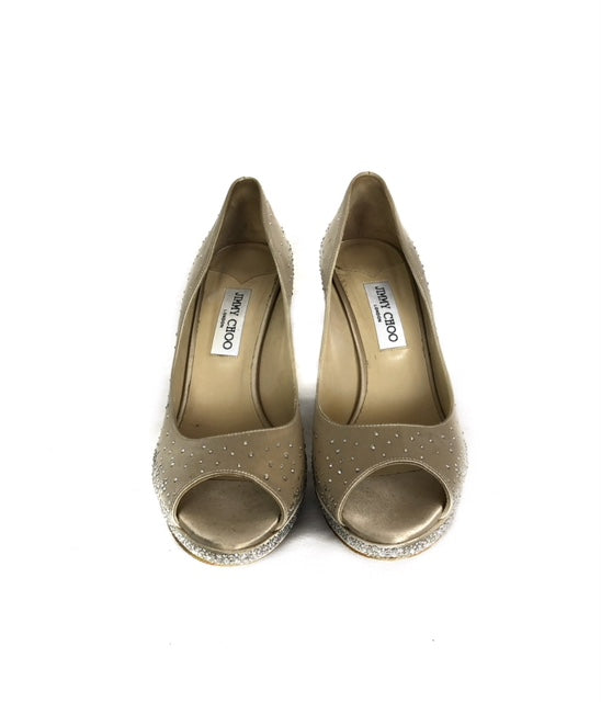 Jimmy Choo Size 41 Platform  Pumps