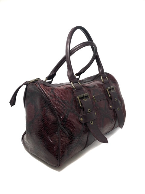 Longchamp Burgundy Handbag