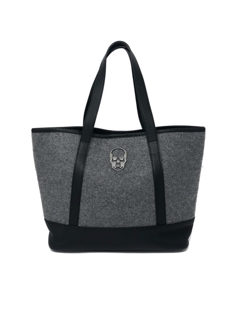 Lucien Pellat-Finet Black/Grey Tote