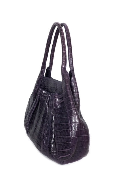 Nancy Gonzalez Purple Handbag