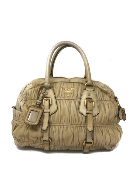 Prada Cream Handbag