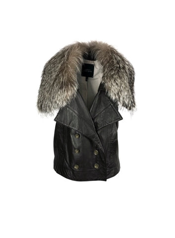 Robert Rodriguez Women Size S Brown Vest