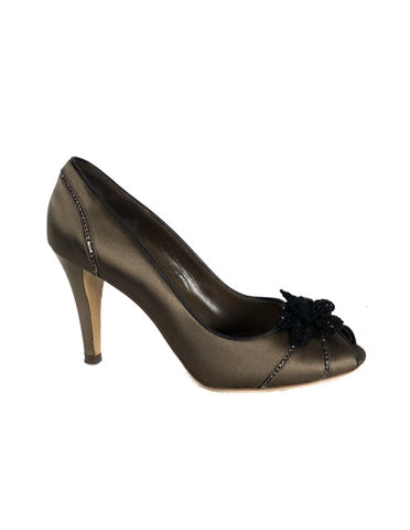 Valentino Brown Size 38.5 High Heels