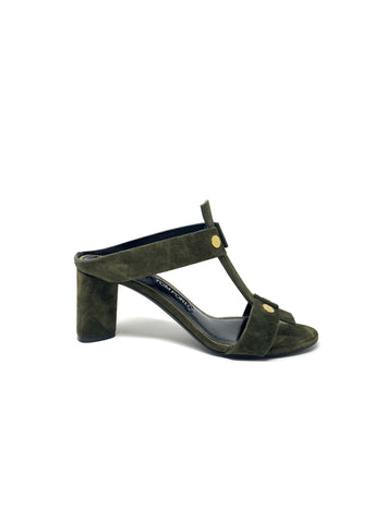 Tom Ford Suede Block Heel Size 38.5
