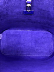 Louis Vuitton Purple '13 Epi Leather Neverfull W/ Pouch