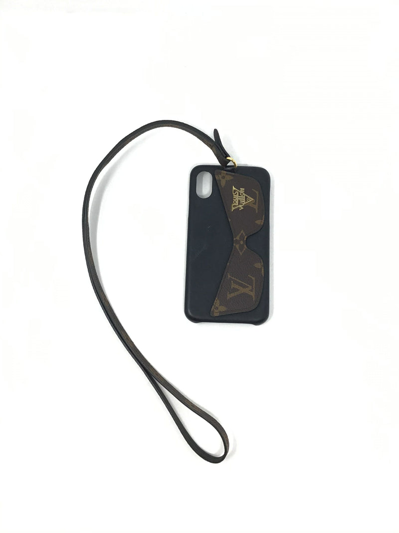 Louis Vuitton WB! '19 Iphone X/Xs Monogram 'Bumper Shades' Lanyard Case
