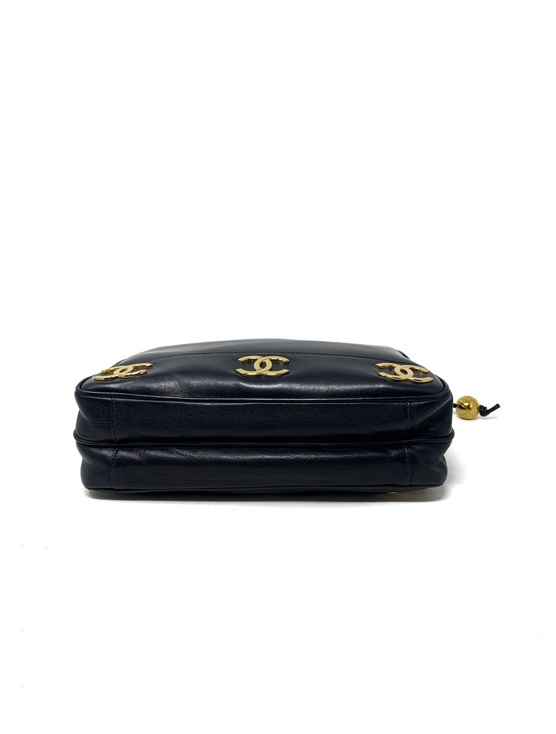 Chanel Navy Handbag