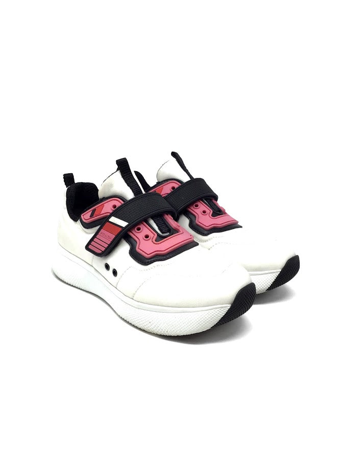 Prada Sport 36 Nylon and Rubber Strap Sneakers