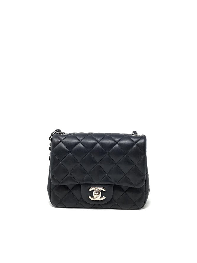 Chanel Mini Flap Lambskin Quilted Crossbody