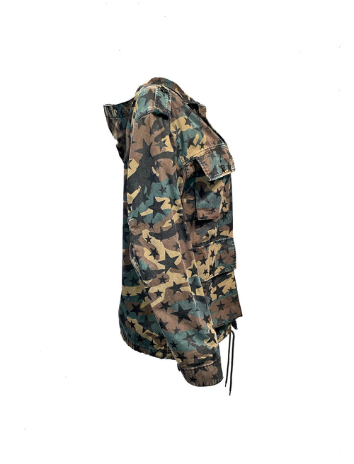 Saint Laurent Size S Camo Outwear